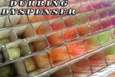 Dubbing dyspenser