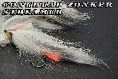 Conehead zonker streamer