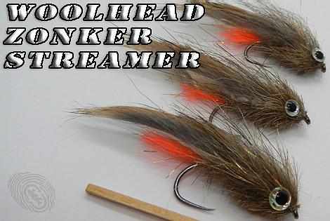 Woolhead zonker streamer